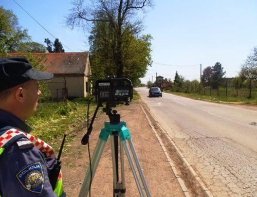 Predložite lokacije nadzora brzine kretanja vozila – pozivaju iz policije