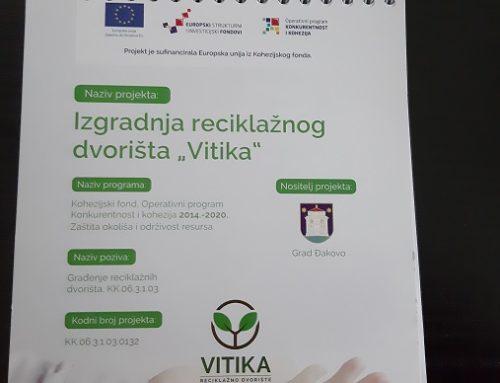 """Izgradnja reciklažnog dvorišta """"Vitika"""""""