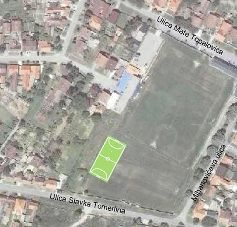 Malonogometni teren s umjetnom travom HNK Đakovo Croatia