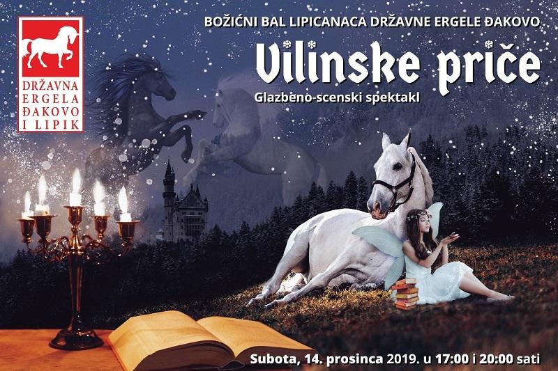"""""""Vilinske priče"""" – Božićni bal lipicanaca"""