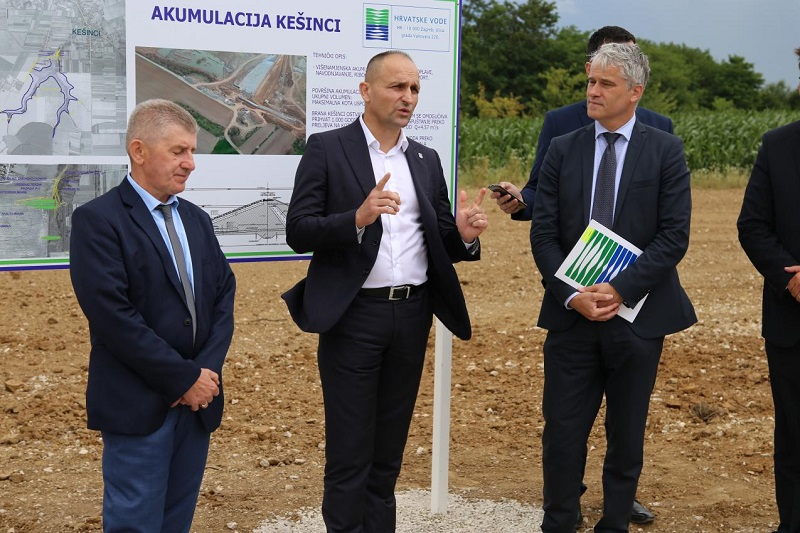 Izgrađena Akumulacija Kešinci, a počinje još veća investicija, aglomeracija Semeljci